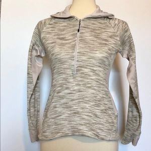 Columbia Women's Tan & Brown Striped Pullover SzXS